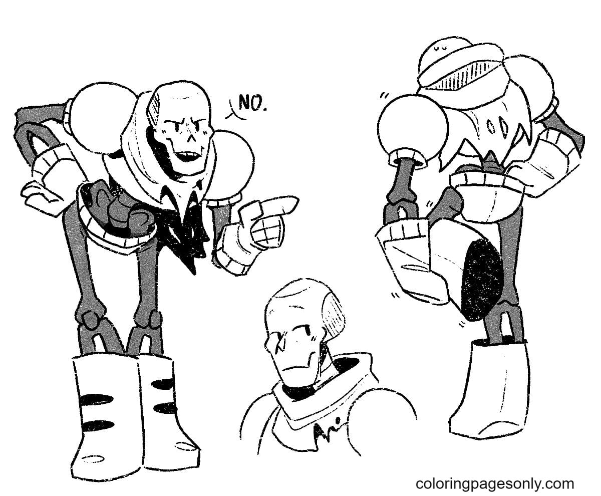 Papyrus Free Coloring Page