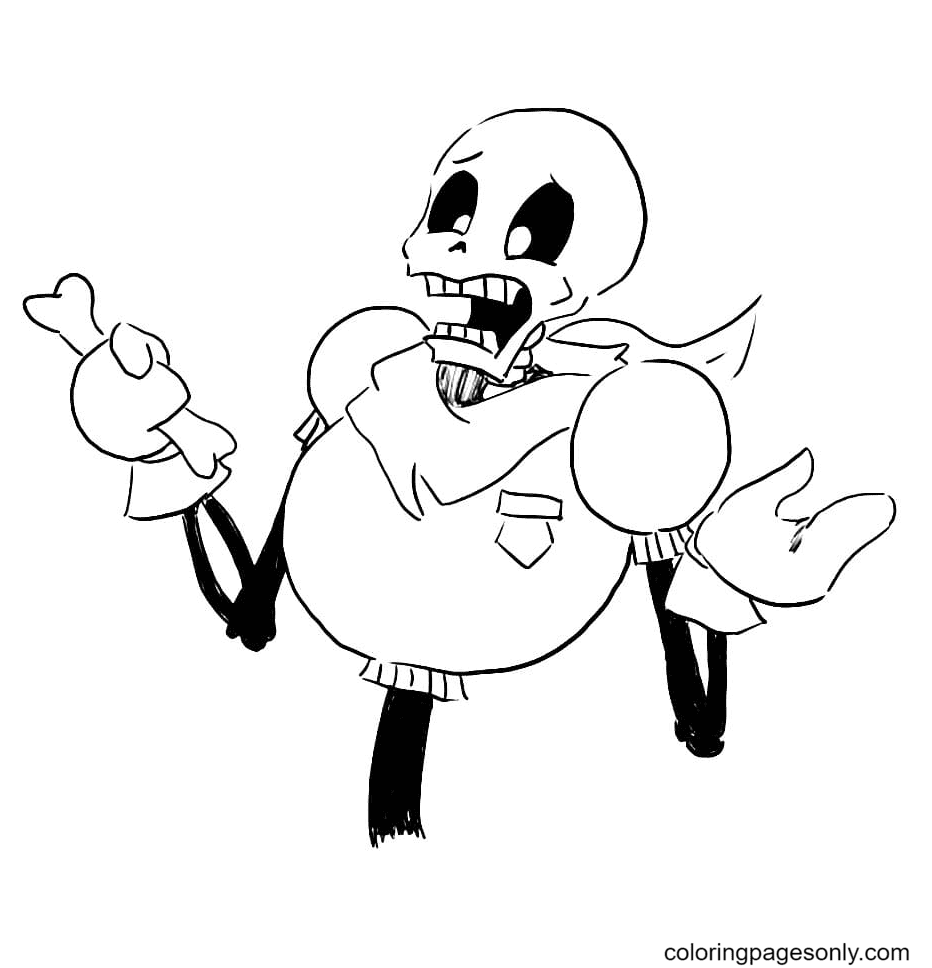 Papyrus Printable Coloring Page