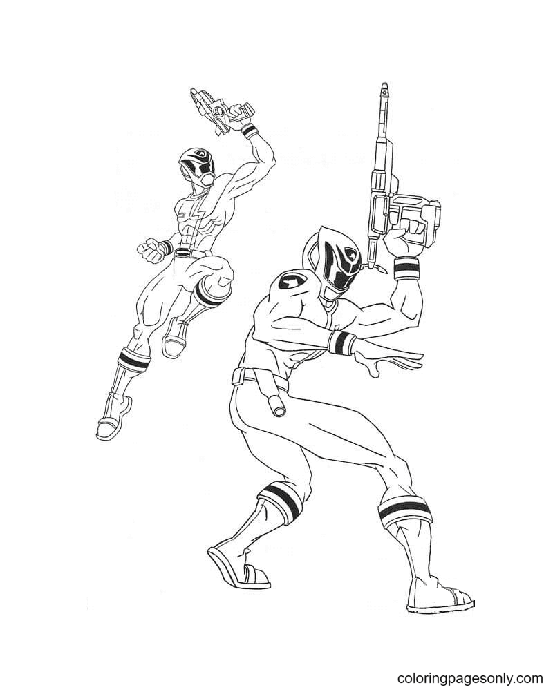 Picture Of Crime Kicker Coloring Page