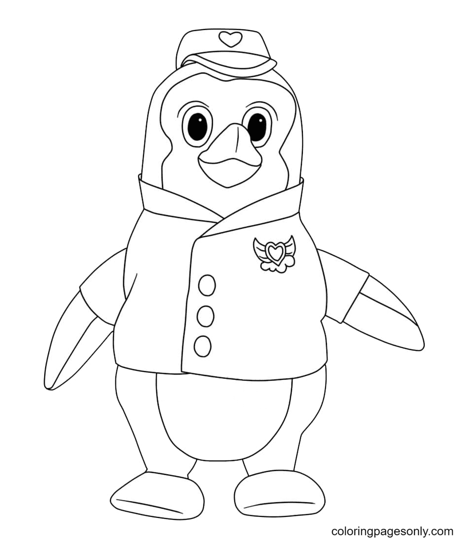 Pip from TOTS Coloring Page