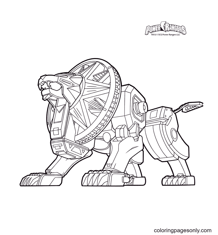 Power rangers to download Coloring Page