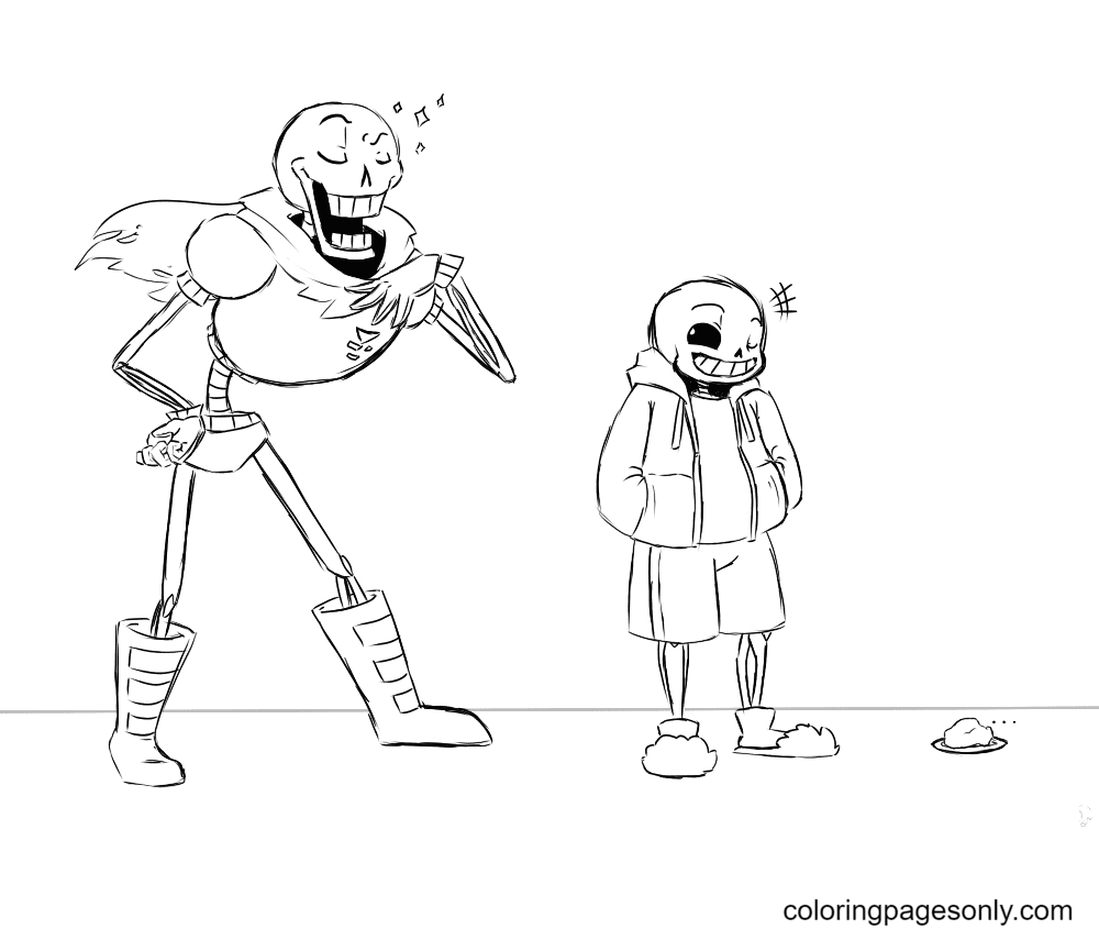 Printable Papyrus Coloring Page