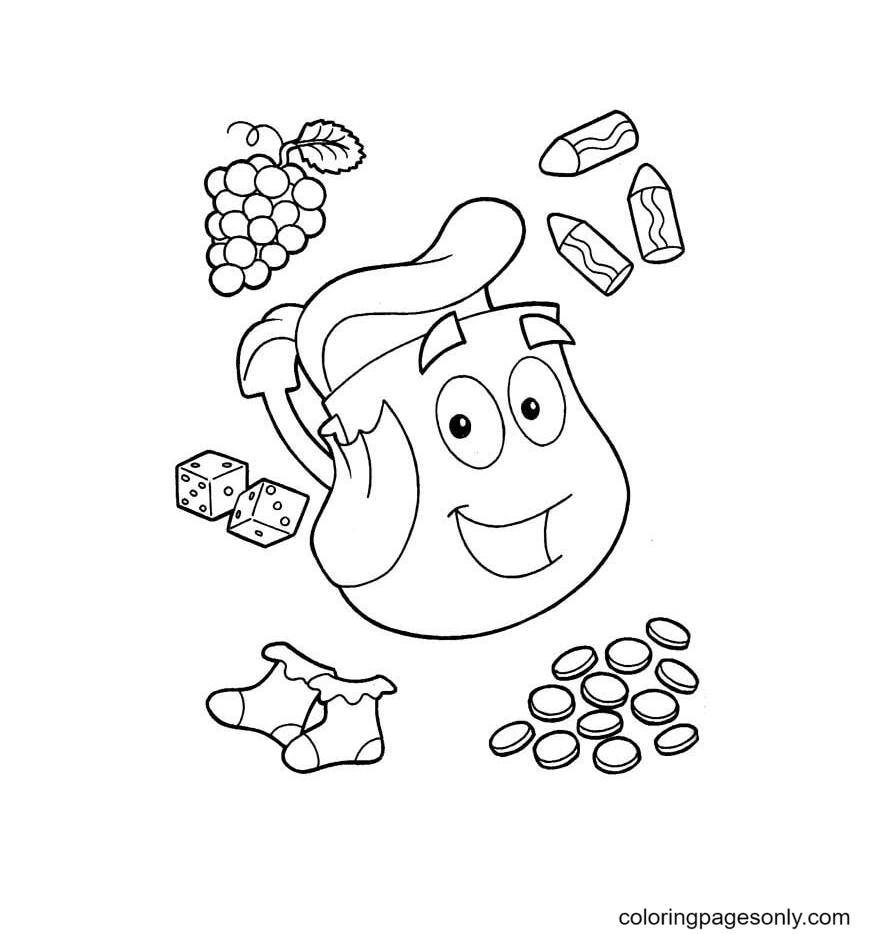 Rescue pack Coloring Page