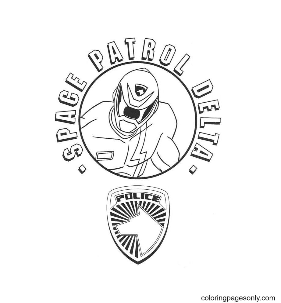Space Patrol Delta Coloring Page