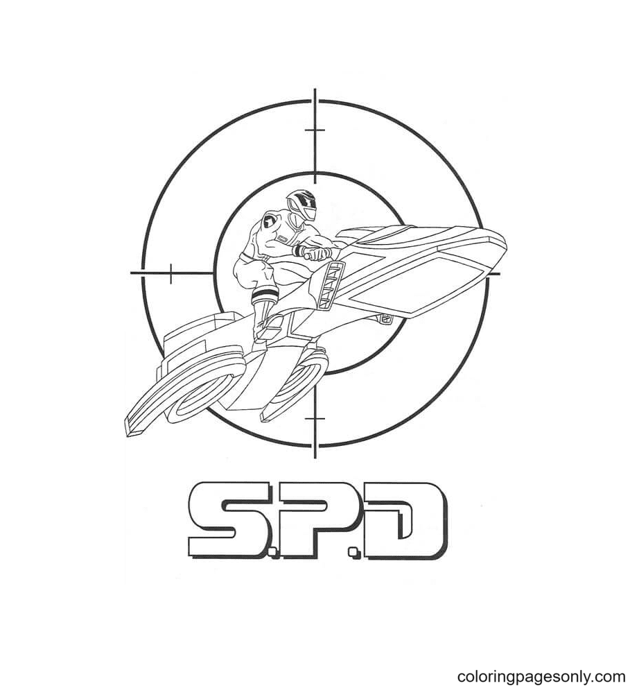 Spd Coloring Page