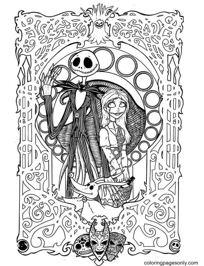The Picture Of Togetherness Coloring Page
