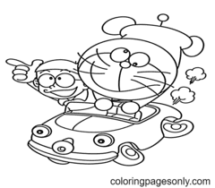 Cartoons Coloring Page