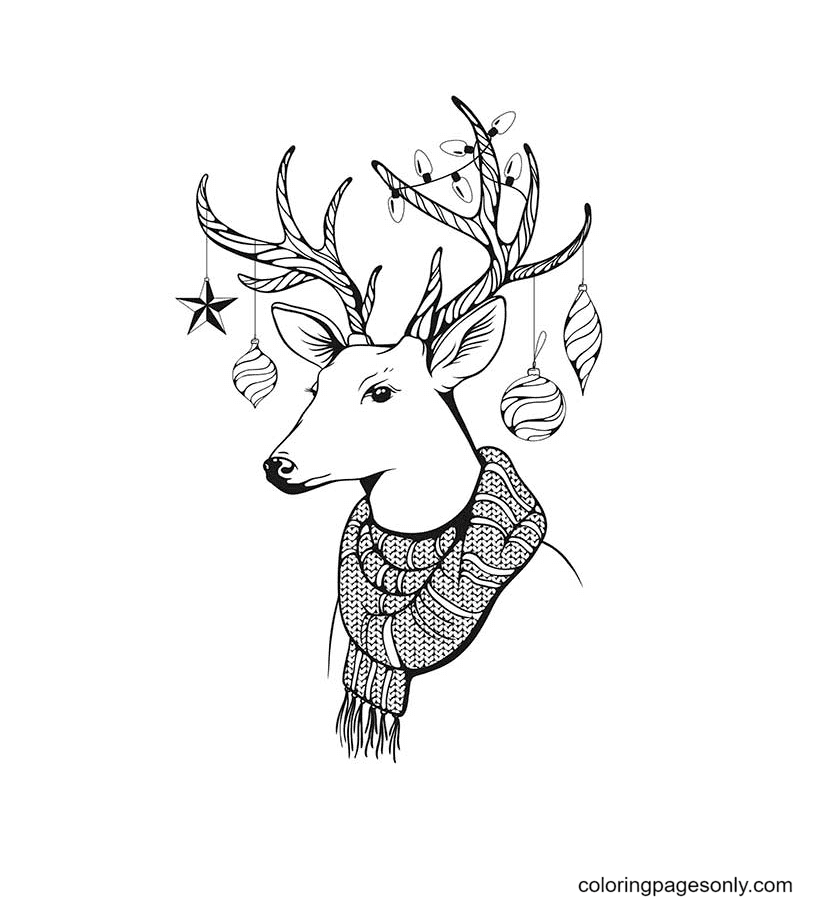 Cute Aesthetic Coloring Page