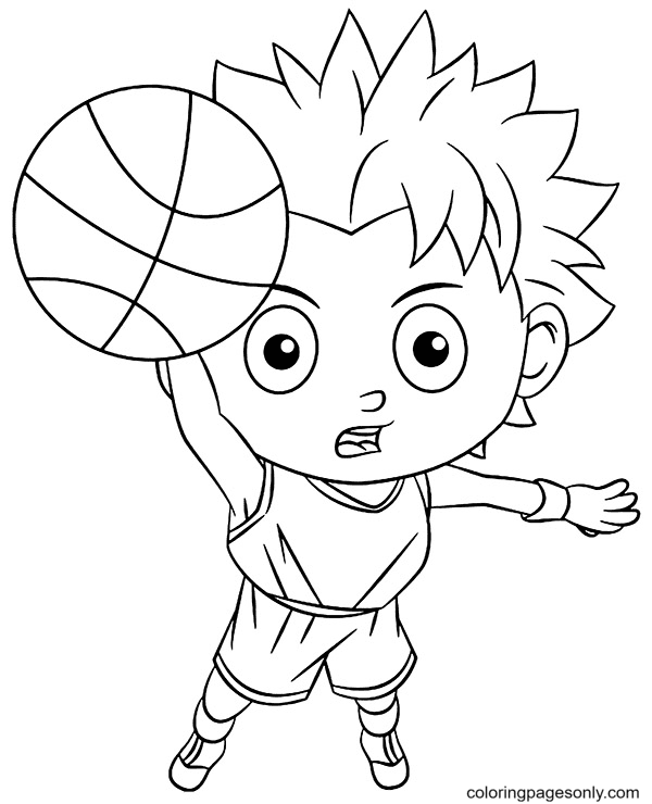 Definitely Score Coloring Page