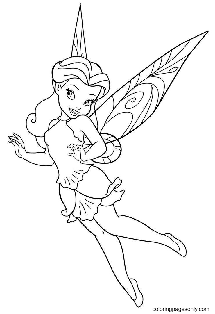 Disney Fairy Coloring Page
