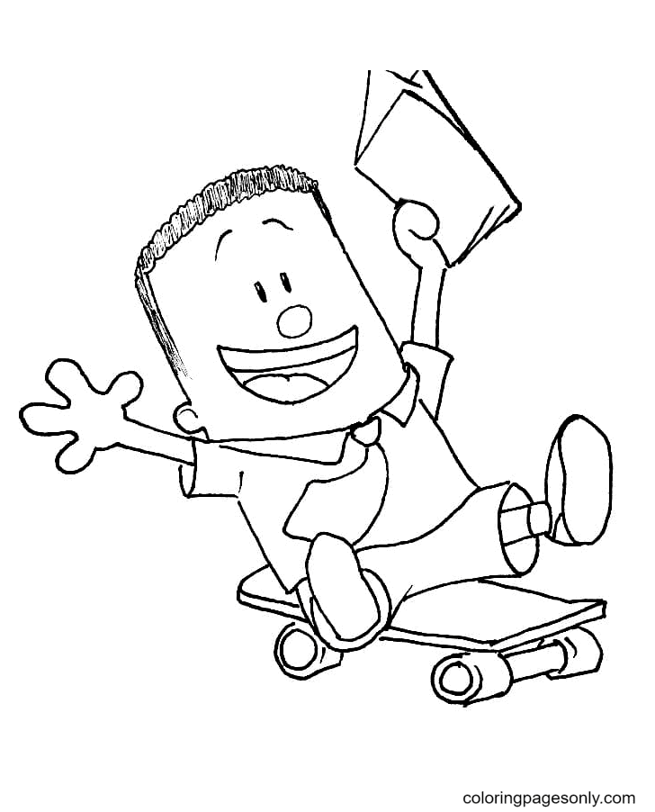 George Coloring Page