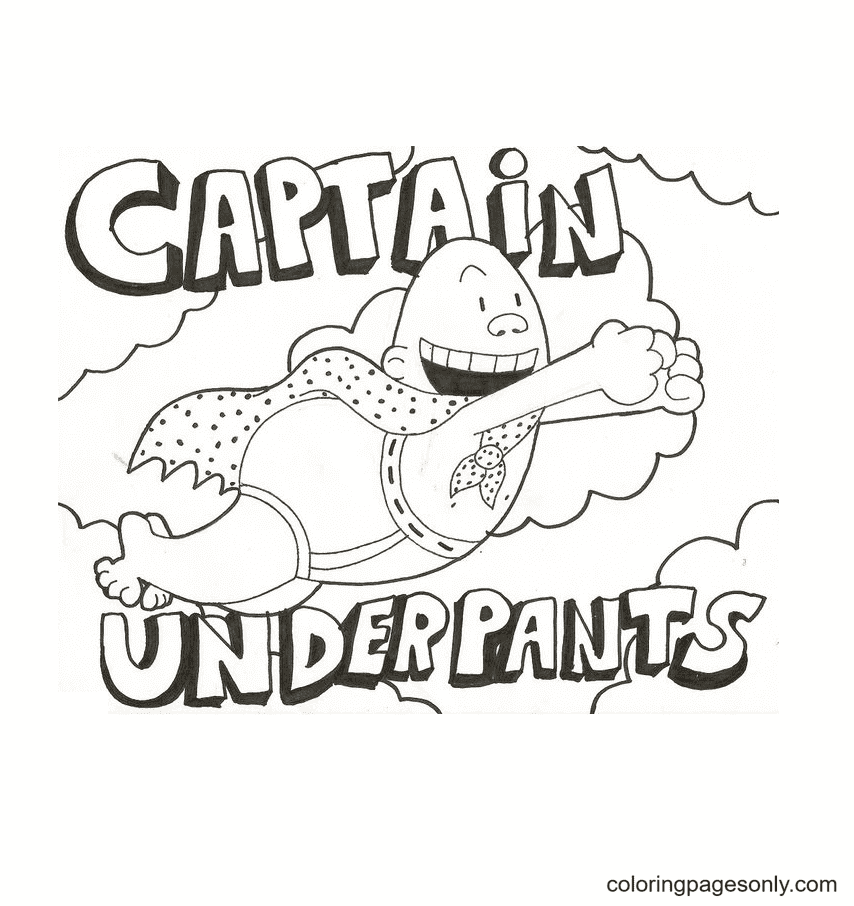 Krupp From Captain Underpants Coloring Page