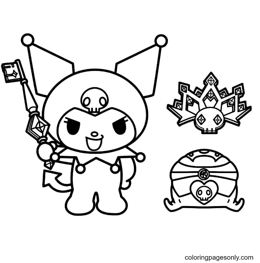 Melody Aestheics Coloring Page