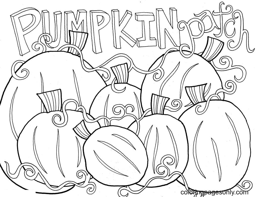 PumpkinPatch Coloring Page