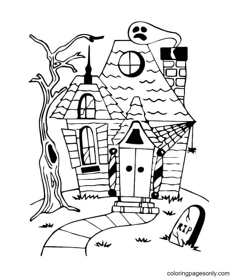 Rest in Peace Coloring Page