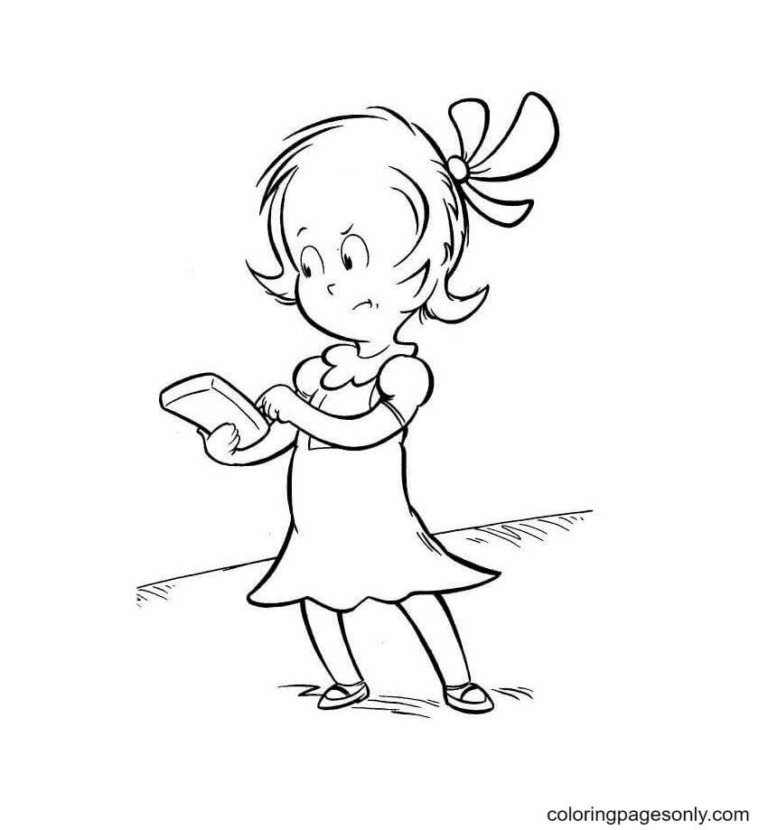 Sally Coloring Page