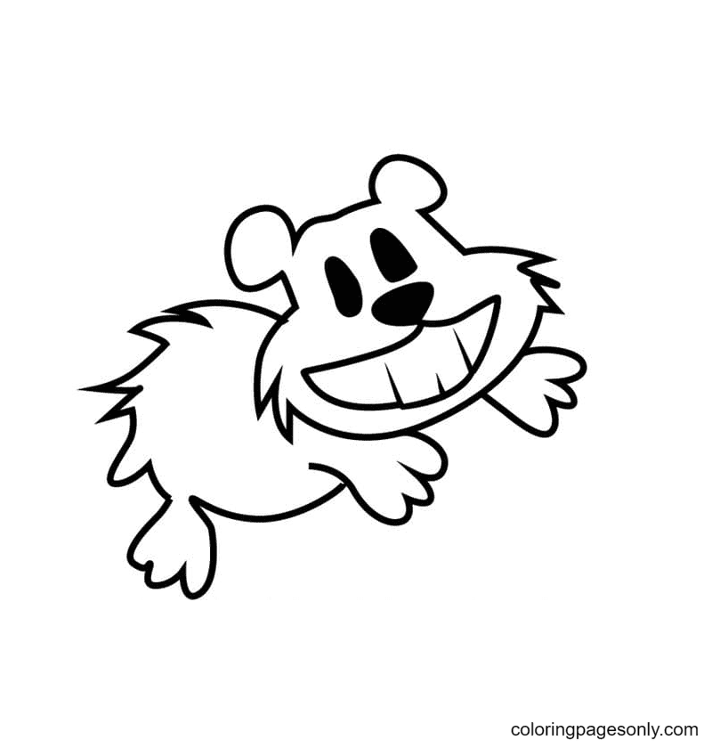 Sulu from Captain Underpants Coloring Page