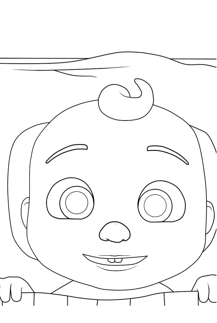 Little Johnny Goes To Sleep Coloring Page