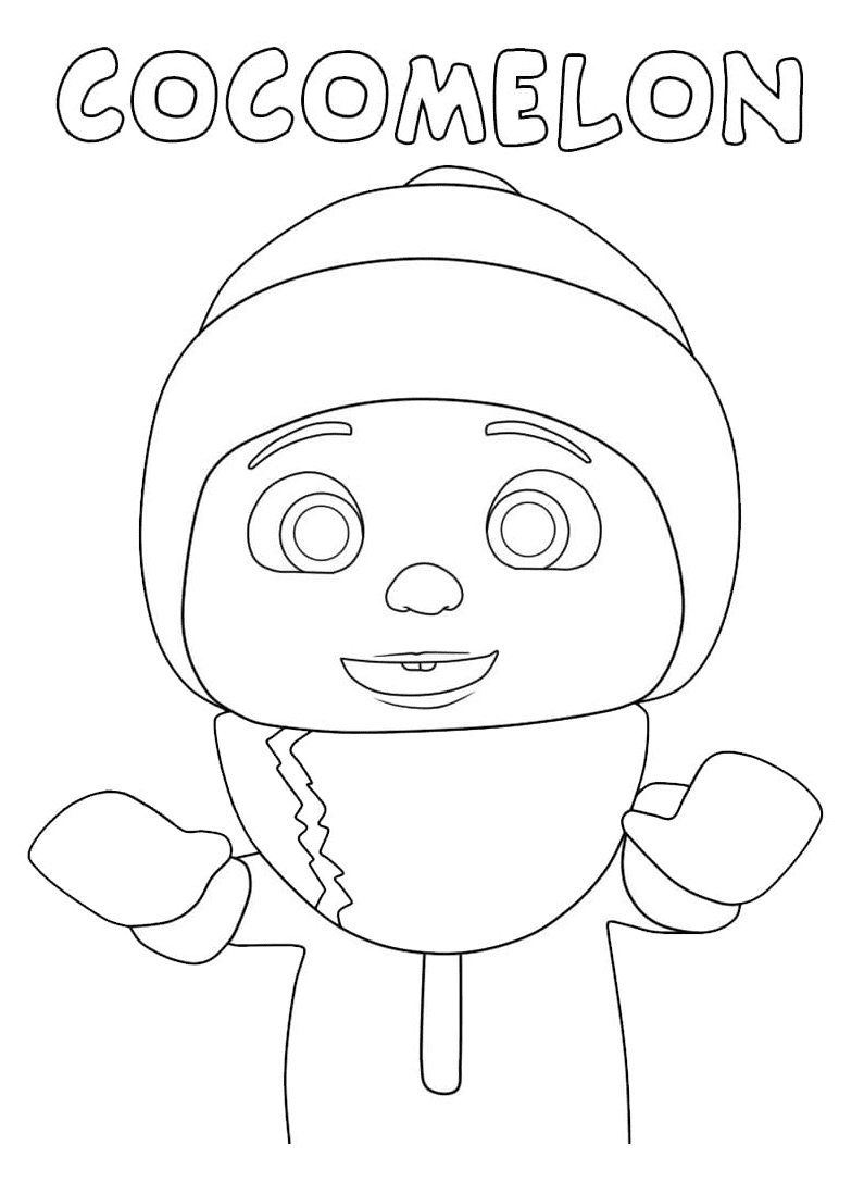 Little Johnny Coloring Page