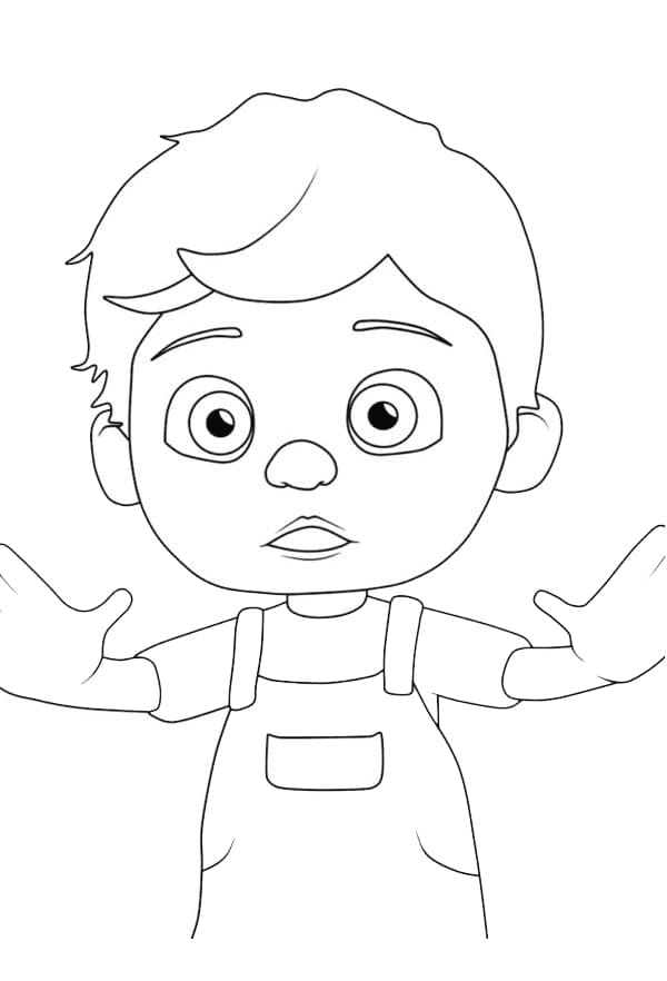 Tom Tom Coloring Page